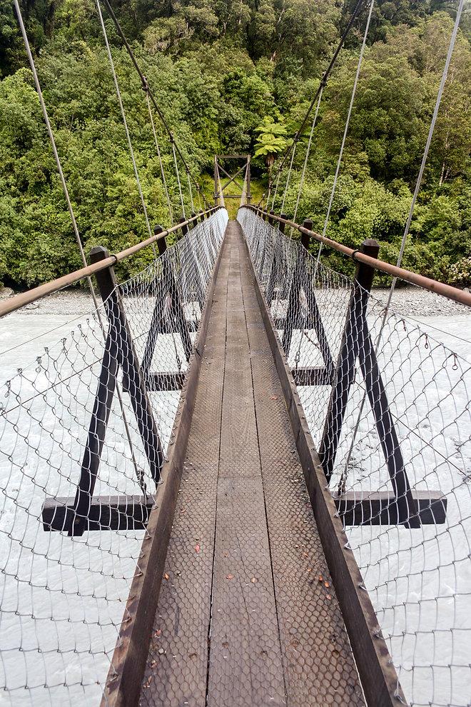 Suspension bridge new zealand