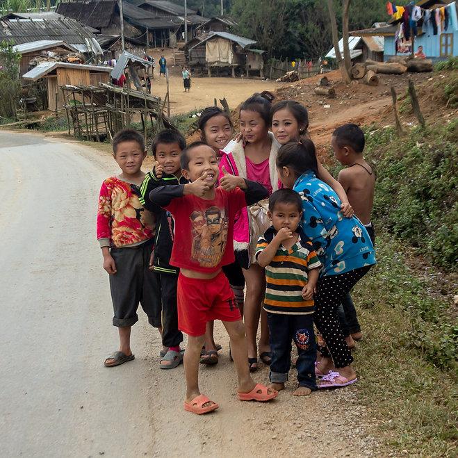 Children laos
