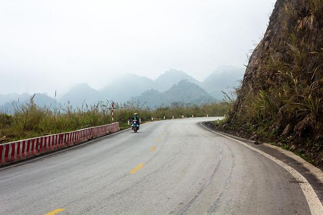 Misty mountains vietnam