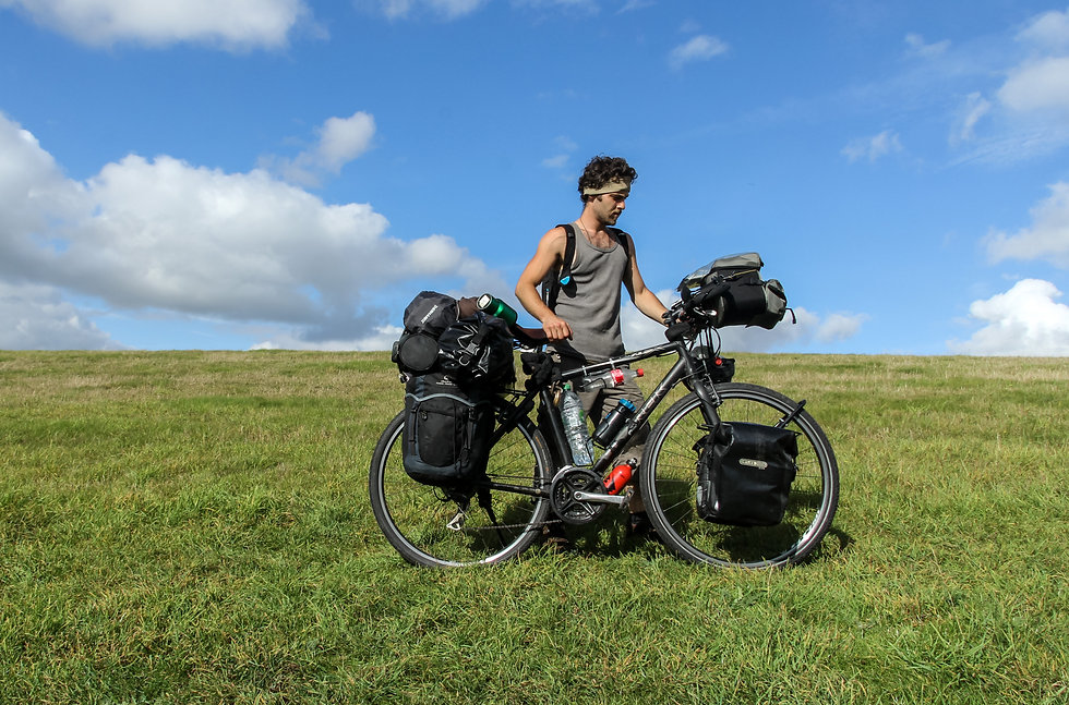 Cycle touring England