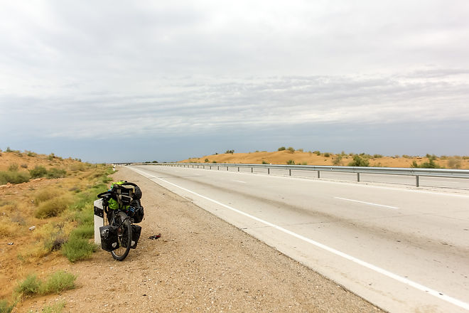 Cycle touring budget travel