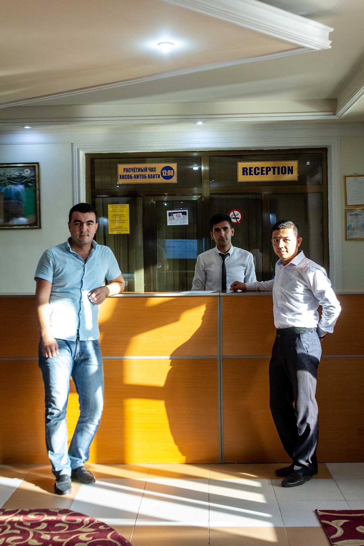 Hotel in Uzbekistan