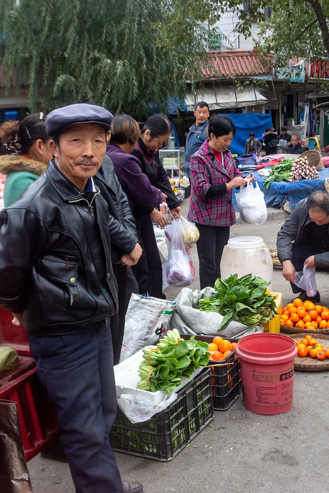 At the market china sichuan