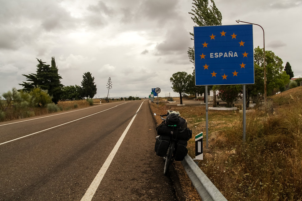 Cycle touring Spain