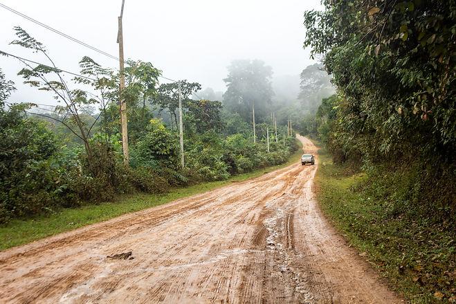 Rainy days and muddy roads