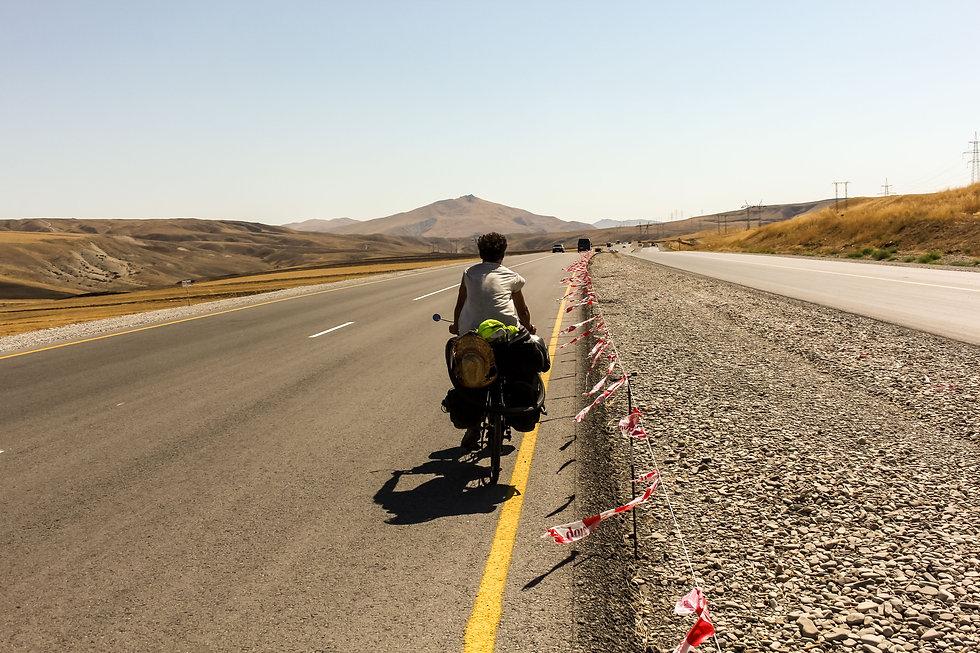 Cycle touring Azerbaijan
