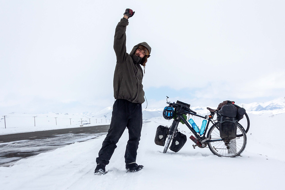Cycling from Kyrgyzstan to China