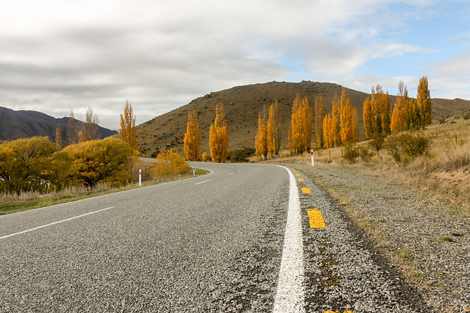 Highway in new zealand
