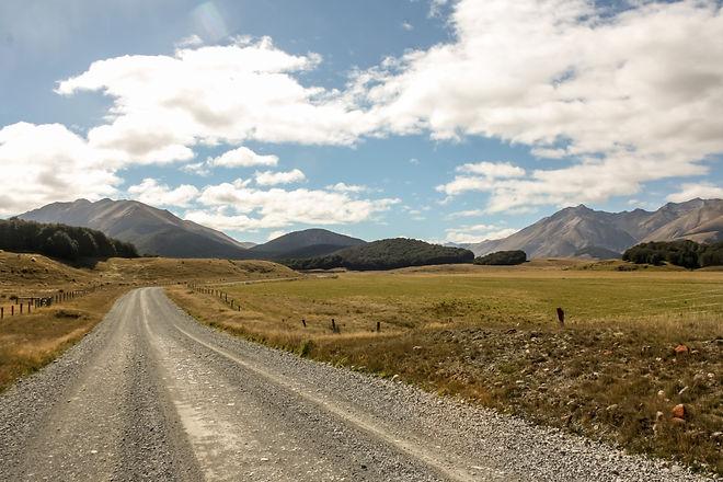 Beautiful landscape in new zealand
