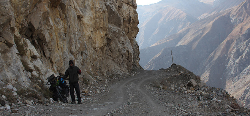 Dushanbe to Khorog - part 2. It's only a grenades from from Afghanistan
