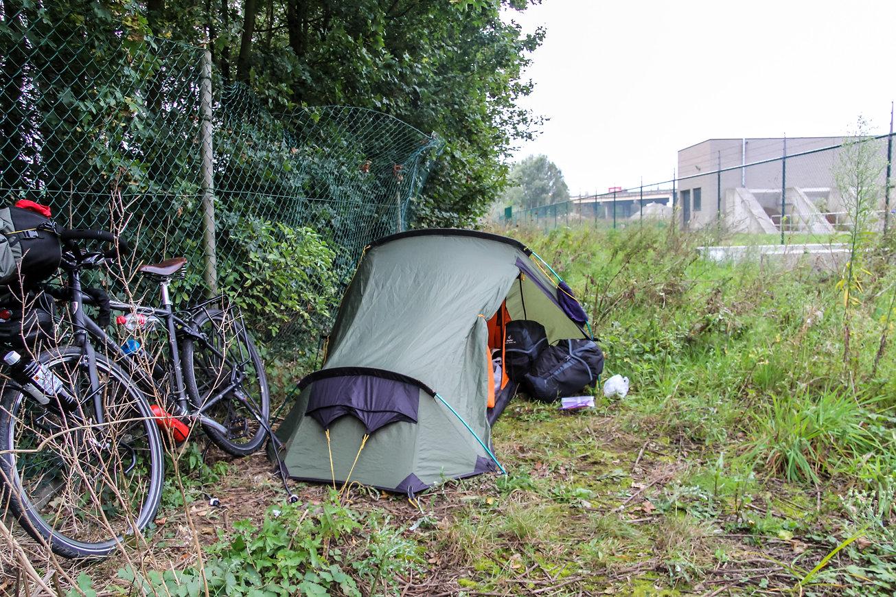 Stealth camping Belgium