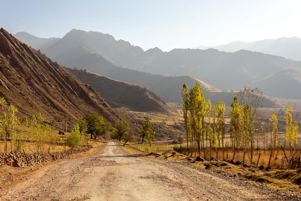 Highway, Tajikistan
