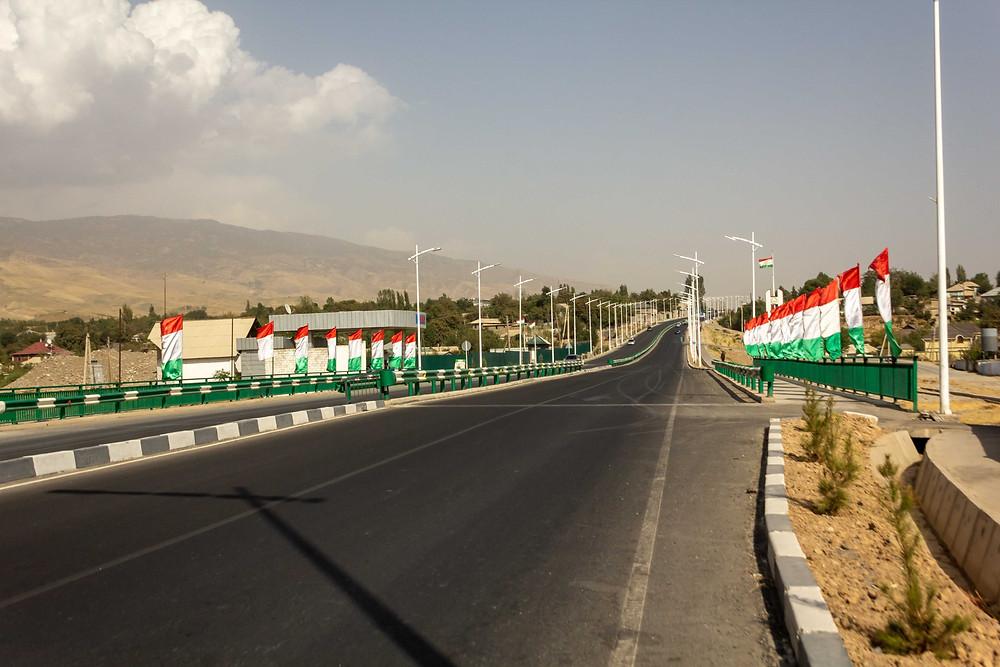 Entering Tajikistan