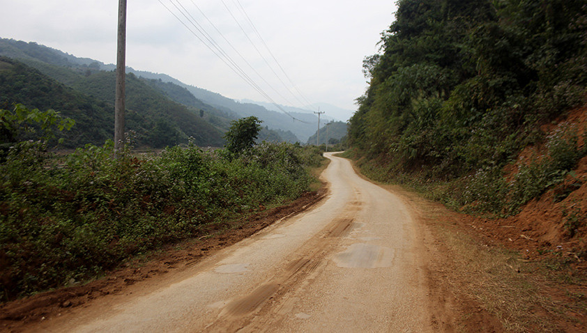 Jungle roads, Laos