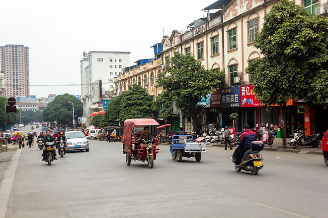 City in china