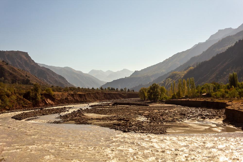 Pamir valley, Tajikistan