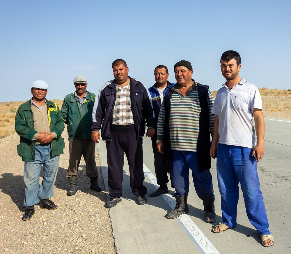 Locals in Uzbekistan