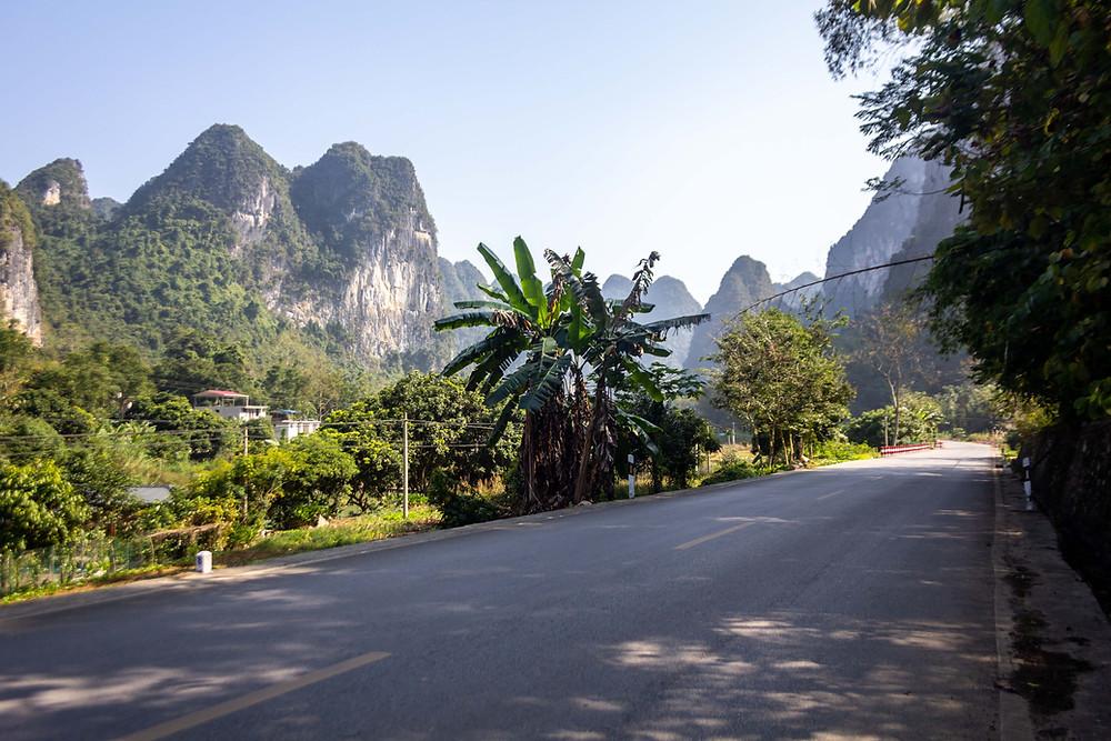 Beautiful scenery in China