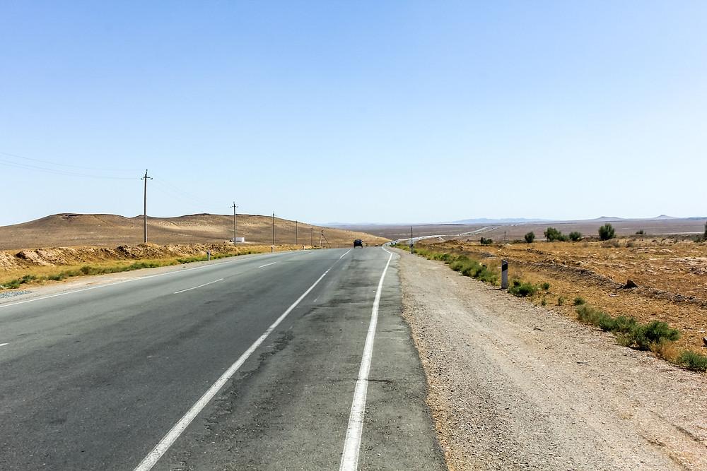 Cycle touring through Uzbekistan