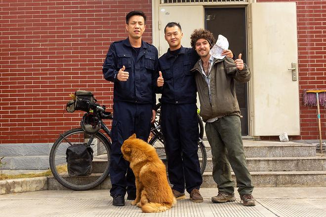 Traffic police china