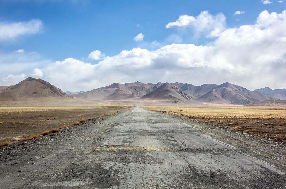 Stunning scenery in Tajikistan