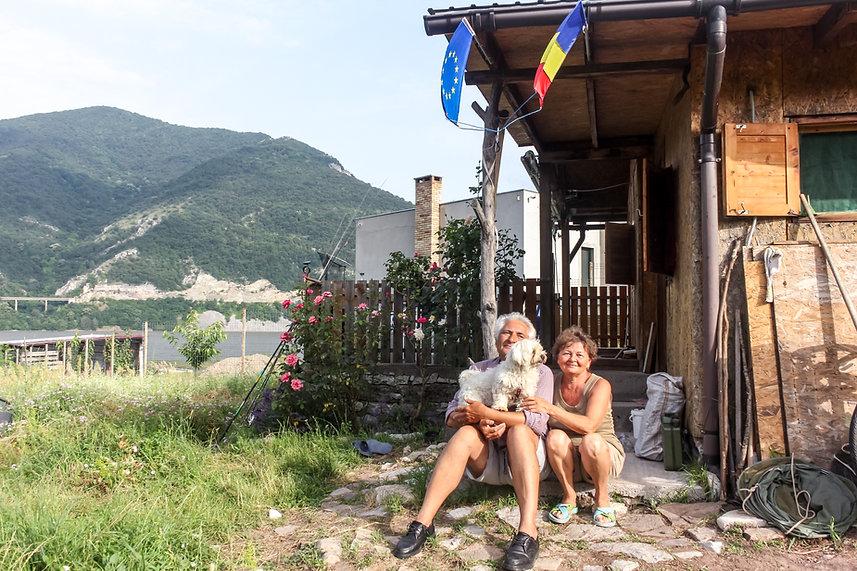 Meeting locals Romania
