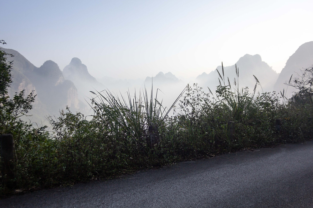 Stunning views in Guangxi province