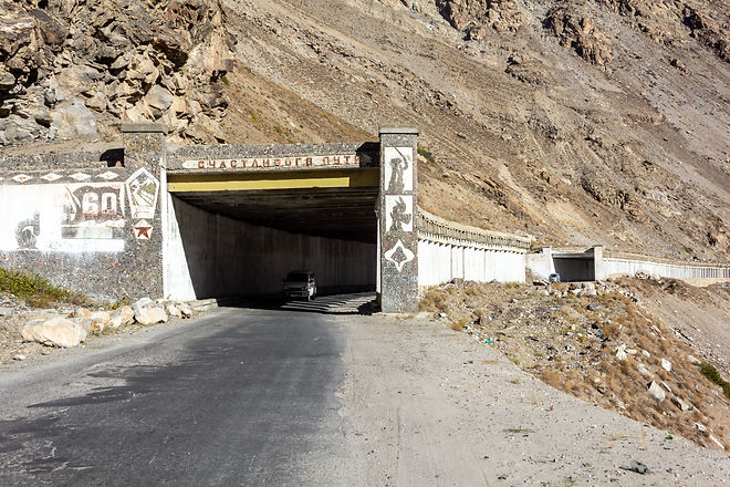 Tunnel pamirs