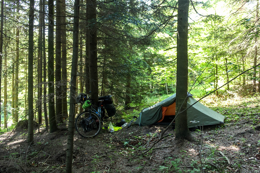 Stealth camping in Slovakia