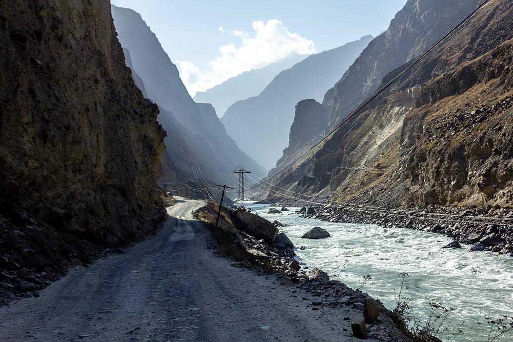 Cycling through Tajikistan