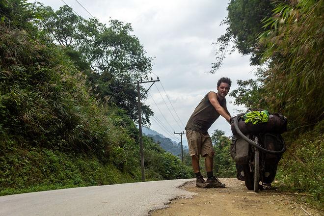 Cycle touring Laos