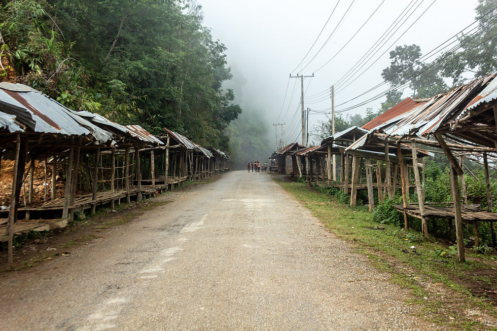 Cycle touring South East Asia