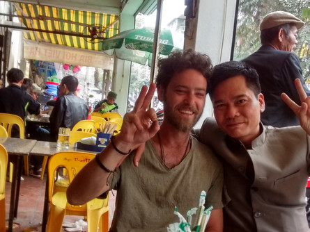 Luang Prabang to Hanoi. Yet more extraordinary coincidences. The end is nigh