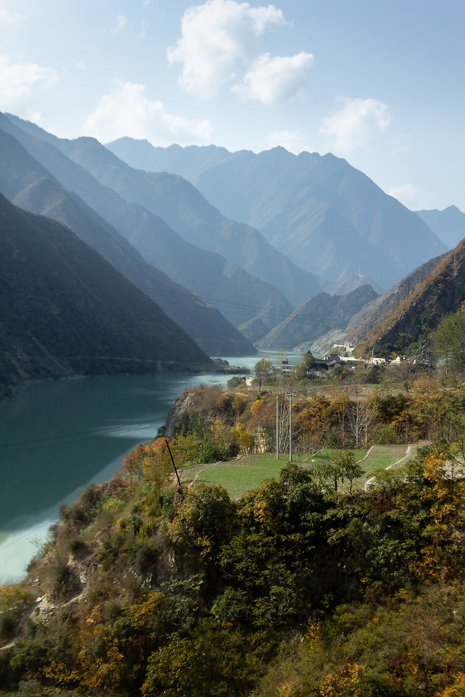 Lake sichuan province