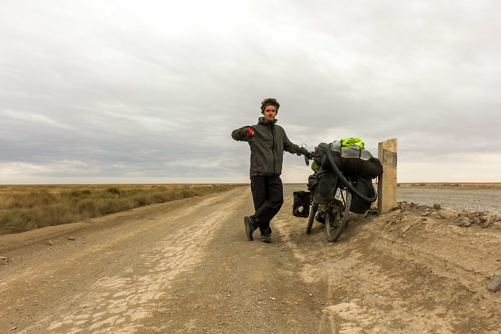 Cycle touring Uzbekistan