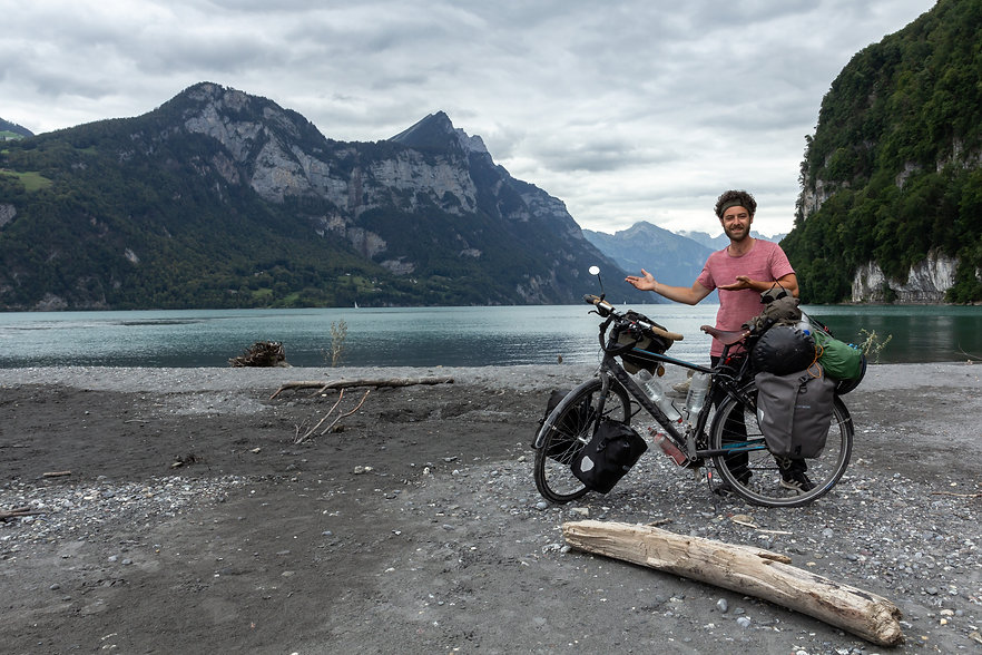 Feel great while cycle touring