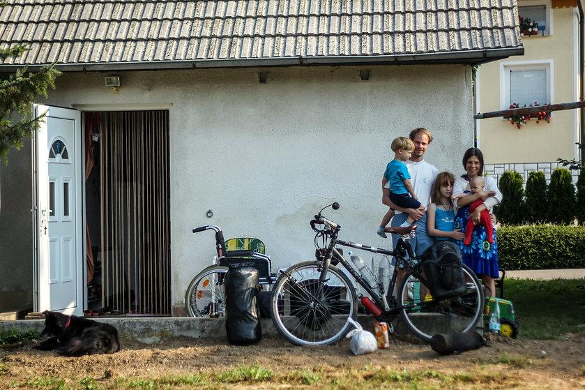 Meeting locals in Slovenia