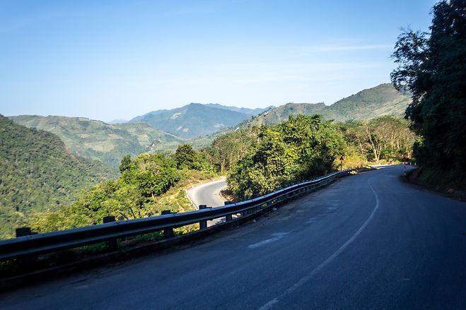 Amazing highway in vetnam