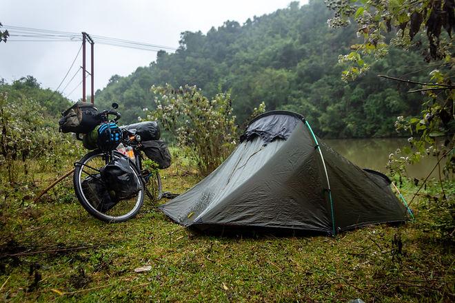 Stealth camping Laos