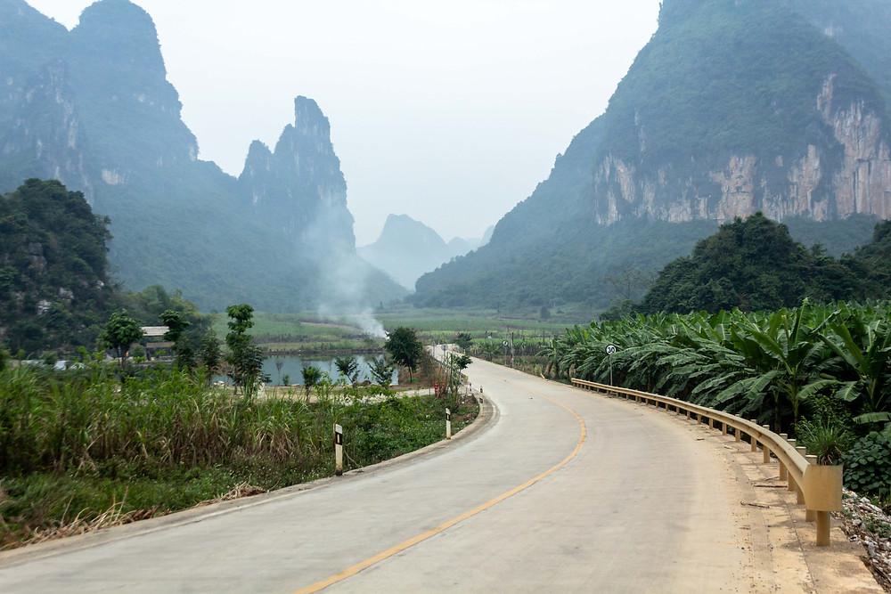 Karst rock formations, China