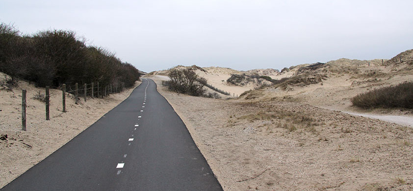 Across the North Sea and through the dunes to Amsterdam
