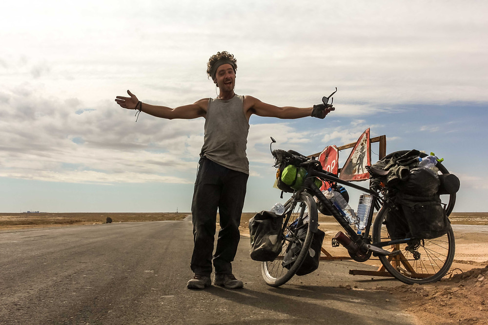 Cycle touring in Uzbekistan