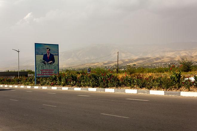 Billboard tajikistan