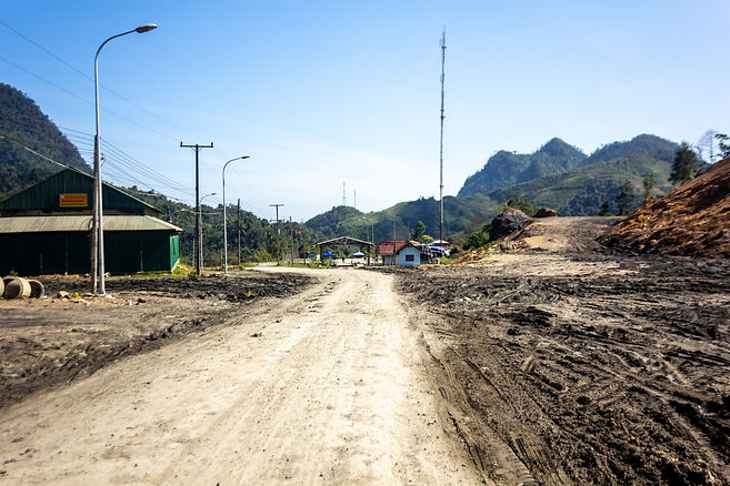 Laos vietnam border