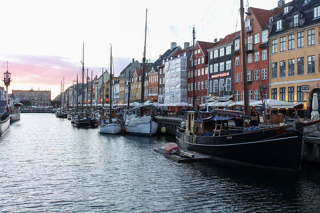 Cycle touring Denmark