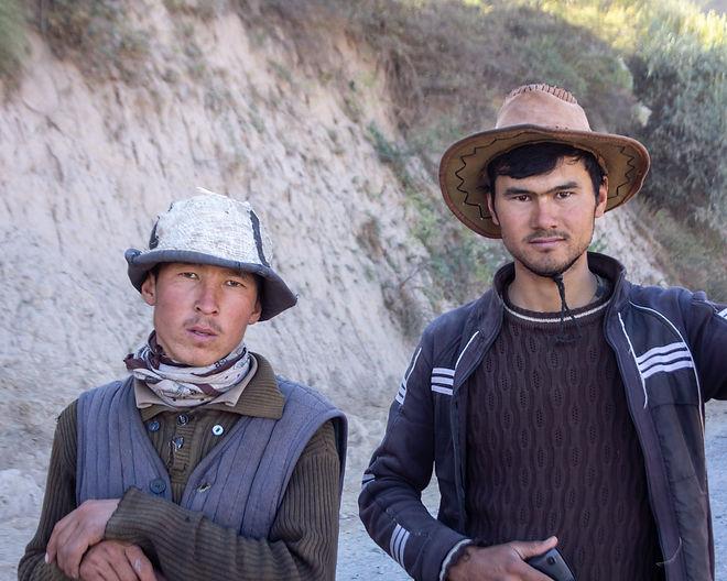 Locals central asia