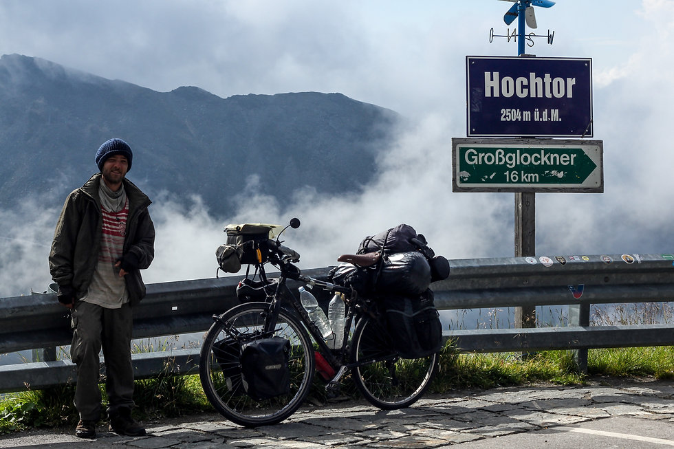 Cycle touring from Manchester to Munich