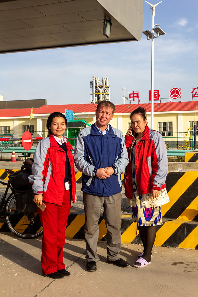 Locals China Xinjiang