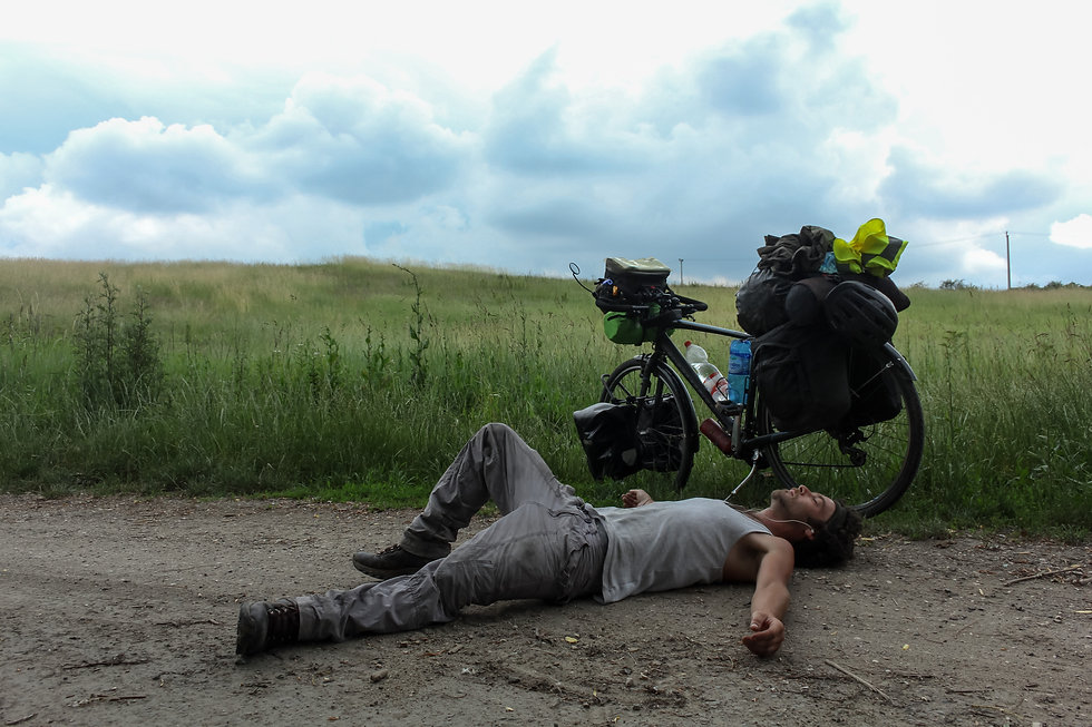 Cycle touring Europe