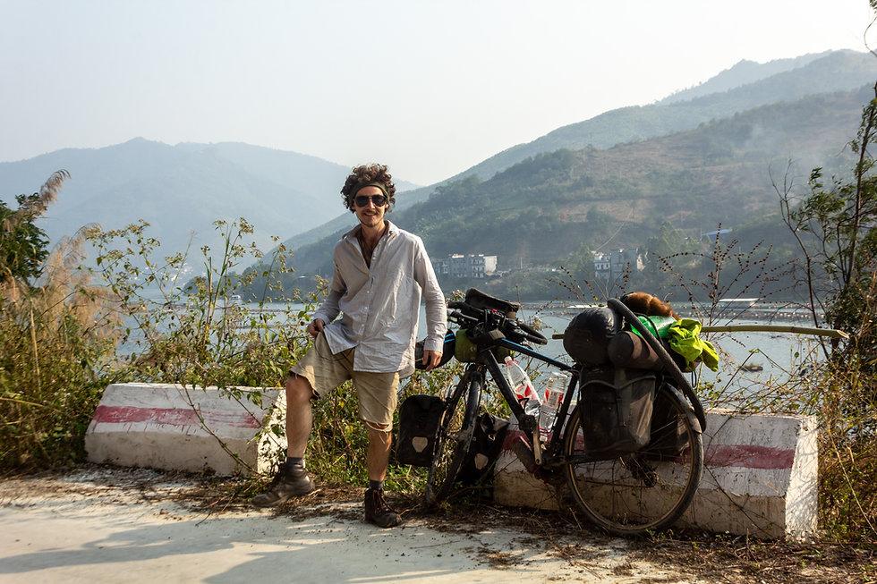 Cycle touring China